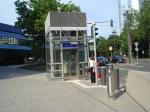 neuer Aufzug S-Bahnstation Taunusanlage