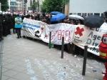 Polizeikette um Blockupy 1.6.2013