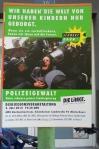 Plakat zur Polizeigewalt