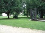 Rasenmäher im Rothschildpark