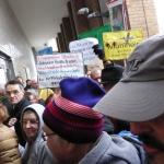 gegen Flughafenausbau am 21.12.2013 (2)