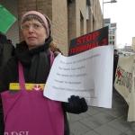 gegen Flughafenausbau am 21.12.2013