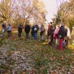 Grüneburgpark Begehung am 16.12.2013