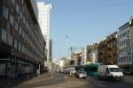 Frankfurt - Stadt mit baumlosen Strassen