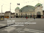 Basel  Autofreier Bahnhofsvorplatz
