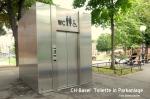 Basel Toilette in Parkanlage