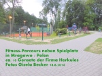 FitnessParcours in Mragowo