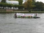 Drachenboot gegen TTIP auf dem Main