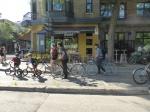 Montreal A Maison des Cyclistes Foto Gisela Becker