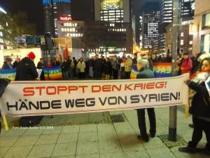 Stoppt Krieg in Syrien 1